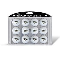 Team Golf Nashville Predators 12-Pack Golf Balls