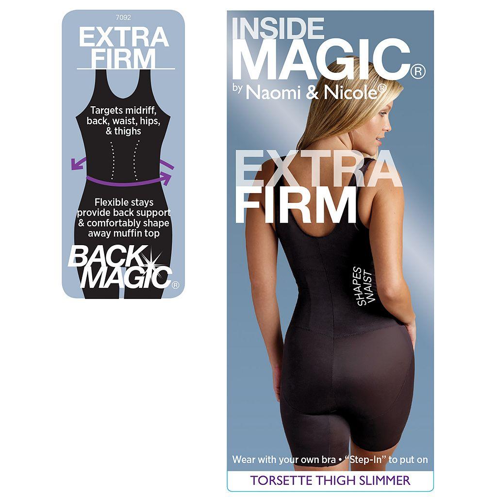Naomi & Nicole Inside Magic Open-Bust Body Shaper 7092