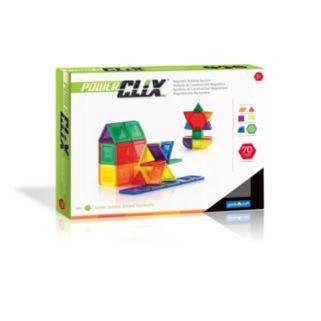 Guidecraft PowerClix 70-pc. Solids Set