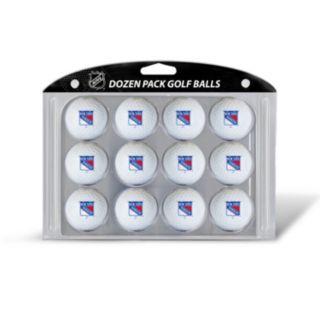 Team Golf New York Rangers 12-Pack Golf Balls