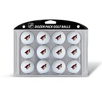 Team Golf Arizona Coyotes 12-Pack Golf Balls