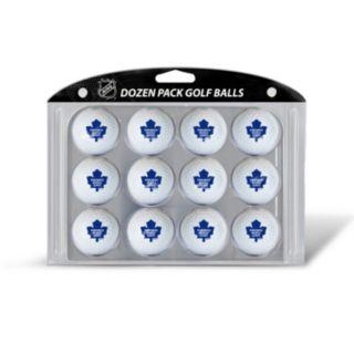 Team Golf Toronto Maple Leafs 12-Pack Golf Balls