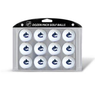 Team Golf Vancouver Canucks 12-Pack Golf Balls