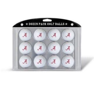 Team Golf Alabama Crimson Tide 12-Pack Golf Balls
