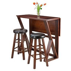 Winsome 3-piece Harrington Drop Leaf Dining Set