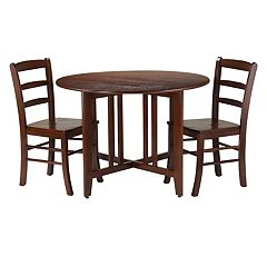Winsome 3-piece Alamo Drop Leaf Dining Set