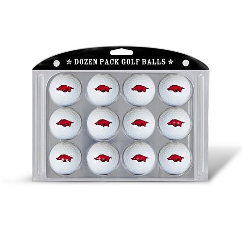 Team Golf Arkansas Razorbacks 12-Pack Golf Balls