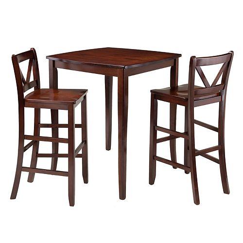Winsome 3-piece Inglewood Dining Set