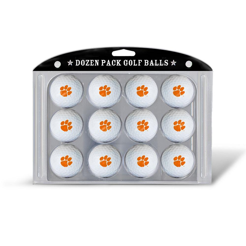 Team Golf Clemson Tigers 12-Pack Golf Balls