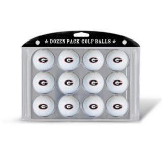 Team Golf Georgia Bulldogs 12-Pack Golf Balls