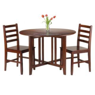Winsome 3-piece Alamo Dining Set