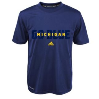 Boys 4-7 adidas Michigan Wolverines Shock Energy Climalite Tee