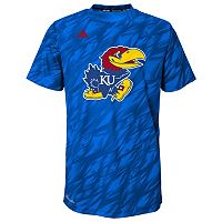 Boys 4-7 adidas Kansas Jayhawks Mark My Words Climalite Tee