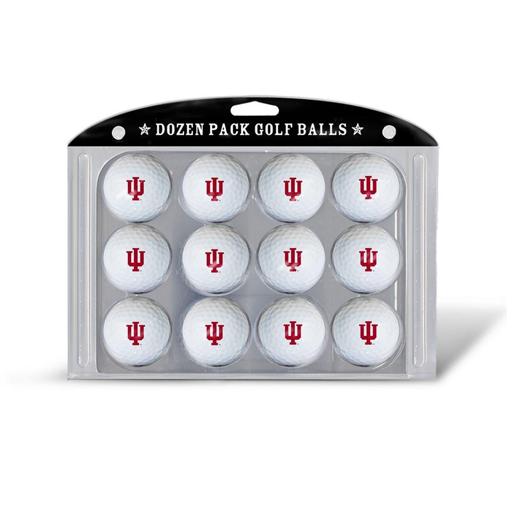 Team Golf Indiana Hoosiers 12-Pack Golf Balls