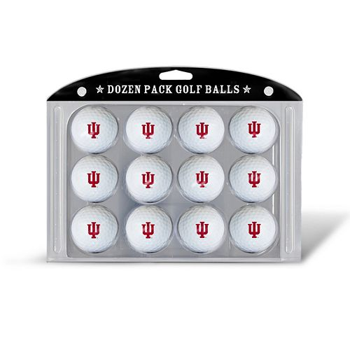 Team Golf Indiana Hoosiers 12-Pack Golf Balls