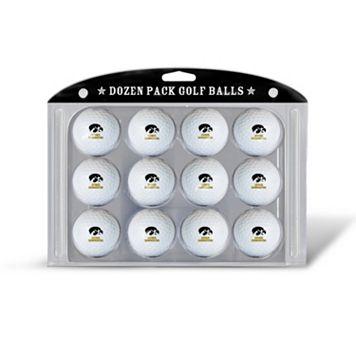Team Golf Iowa Hawkeyes 12-Pack Golf Balls
