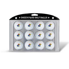Team Golf Kansas Jayhawks 12-Pack Golf Balls
