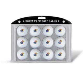 Team Golf Kansas Jayhawks 12-Pack Golf Balls