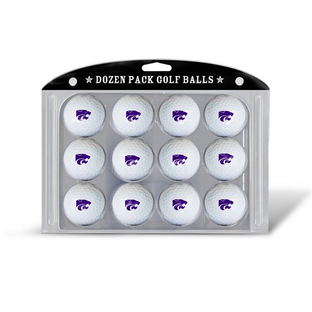 Team Golf Kansas State Wildcats 12-Pack Golf Balls