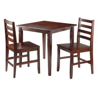 Winsome 3-piece Kingsgate Dining Set