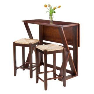 Winsome 3-piece Harrington Dining Set