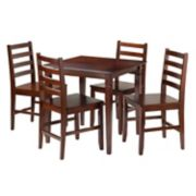 Winsome 5-piece Kingsgate Dining Set
