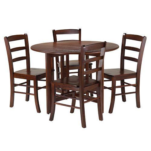 Winsome 5-piece Alamo Dining Set