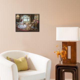 "Art.com ""Jenny Paints Her Bears"" Wall Art"
