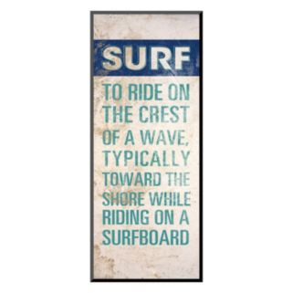 "Art.com ""Surf Lingo I"" Wall Art"