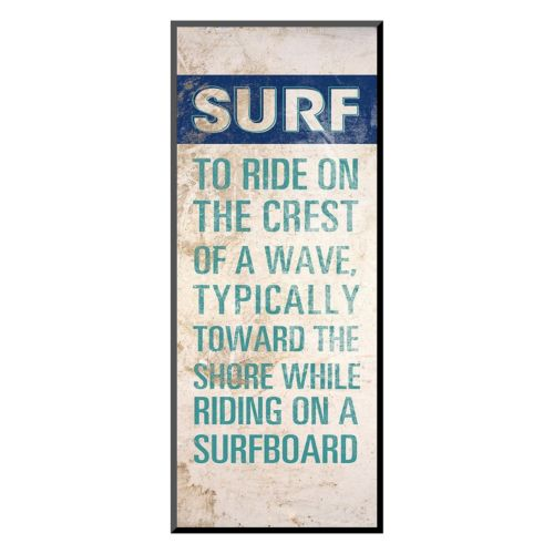 "Art.com ""Surf Lingo I"" Wall Art"