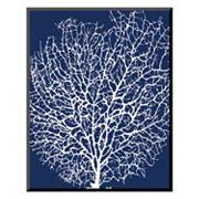 Art.com 'Navy Coral II' Wall Art