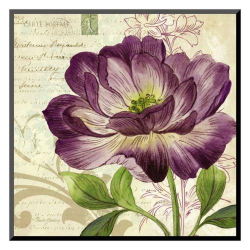 Art.com Study in Purple II Wall Art