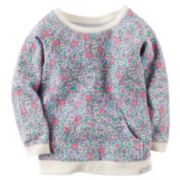Carter's Floral French Terry Tunic - Toddler Girl