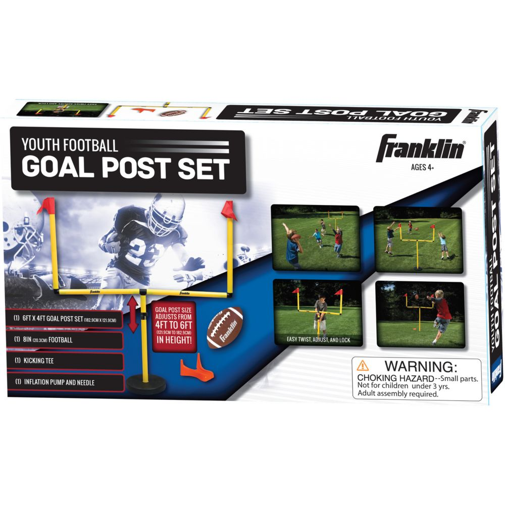 football goal post set youth