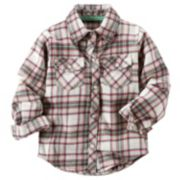 Carter's Plaid Button-Down Shirt - Baby Girl