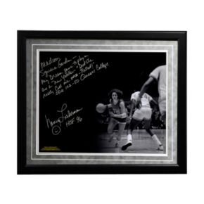 "Steiner Sports Old Dominion Monarchs Nancy Lieberman Playing in MSG Facsimile 16"" x 20"" Framed Metallic Story Photo"