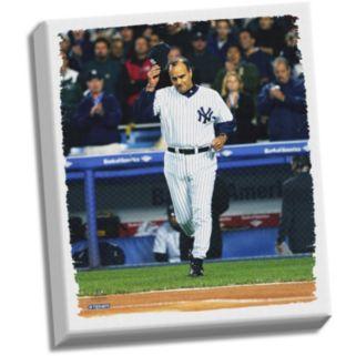 "Steiner Sports New York Yankees Joe Torre Tip Cap 32"" x 40"" Stretched Canvas"