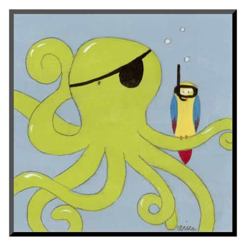 "Art.com ""Captain Calamari"" Wall Art"