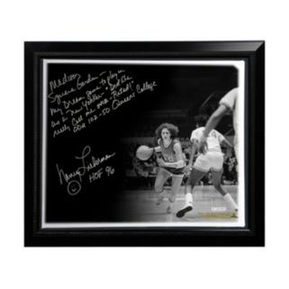 "Steiner Sports Old Dominion Monarchs Nancy Lieberman Playing in MSG Facsimile 22"" x 26"" Framed Stretched Story Canvas"