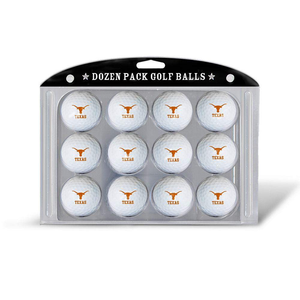 Team Golf Texas Longhorns 12-Pack Golf Balls