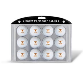 Team Golf Texas Longhorns 12-Pack Golf Balls