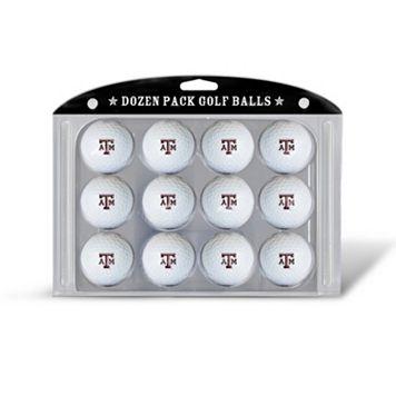 Team Golf Texas A&M Aggies 12-Pack Golf Balls