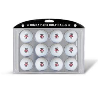 Team Golf Wisconsin Badgers 12-Pack Golf Balls