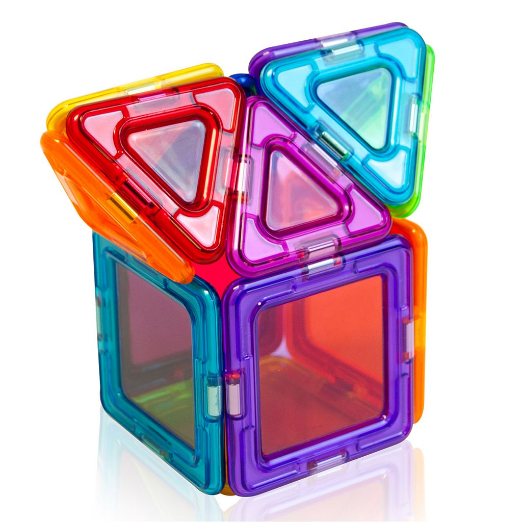 Magformers 14-pc. Clear Solid Rainbow Set