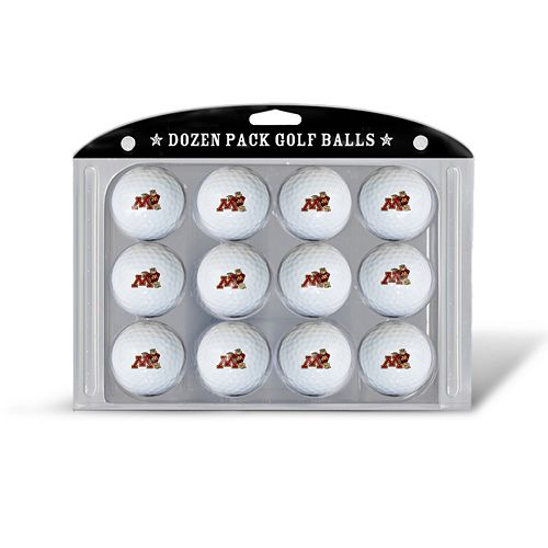 Team Golf Minnesota Golden Gophers 12-Pack Golf Balls