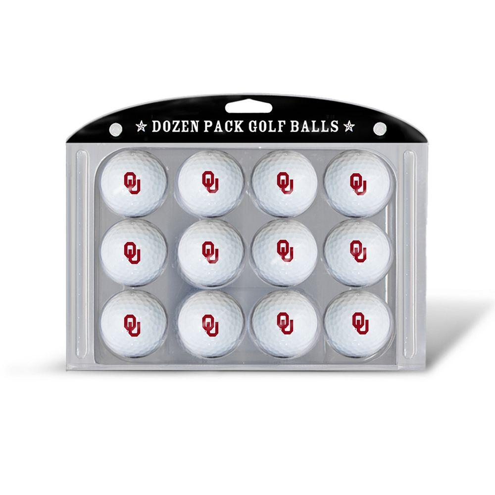 Team Golf Oklahoma Sooners 12-Pack Golf Balls