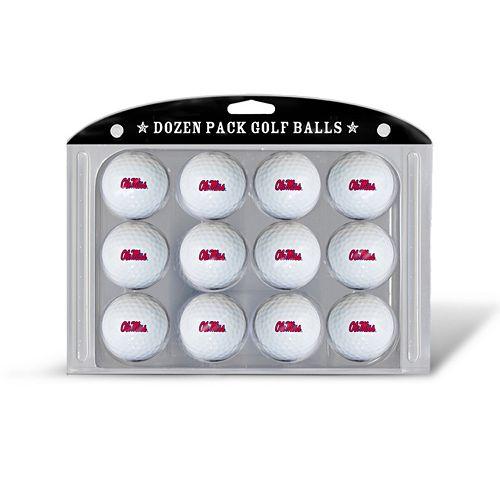 Team Golf Ole Miss Rebels 12-Pack Golf Balls
