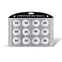 Team Golf Mississippi State Bulldogs 12-Pack Golf Balls