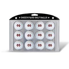 Team Golf Mississippi State Bulldogs 12-Pack Golf Balls