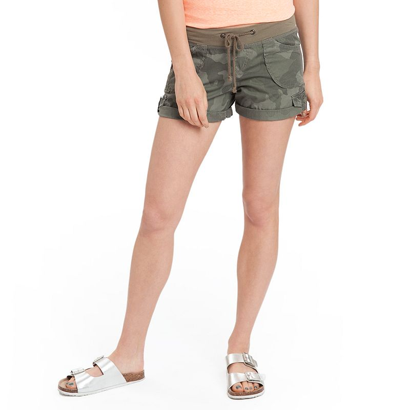 Unionbay Christy Rolled Cuff Juniors' Midi Shorts